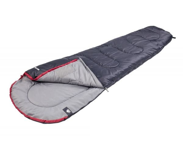 Классический спальный мешок-кокон EASY TREK антрацит