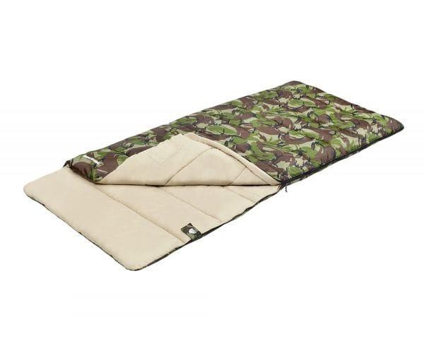 Камуфляжный спальный мешок-одеяло TRAVELLER COMFORT
