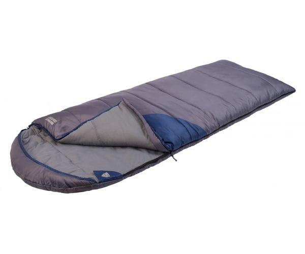 Кемпинговый спальный мешок-одеяло WARMER COMFORT левый