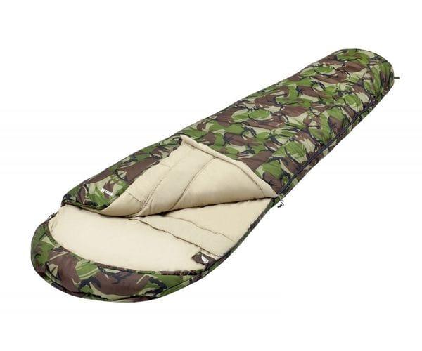 Камуфляжный спальный мешок-кокон HUNTER