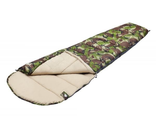 Камуфляжный спальный мешок-кокон RAPTOR