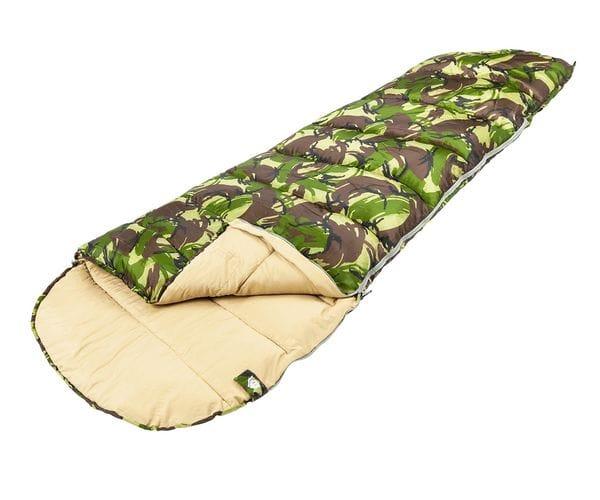 Камуфляжный спальный мешок-кокон RAPTOR XL
