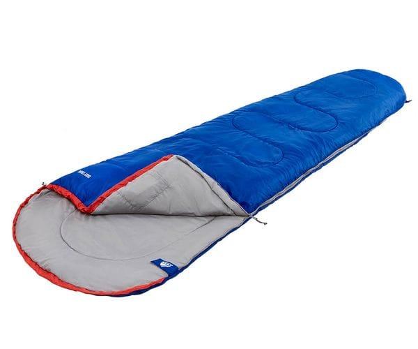 Классический спальный мешок-кокон EASY TREK синий