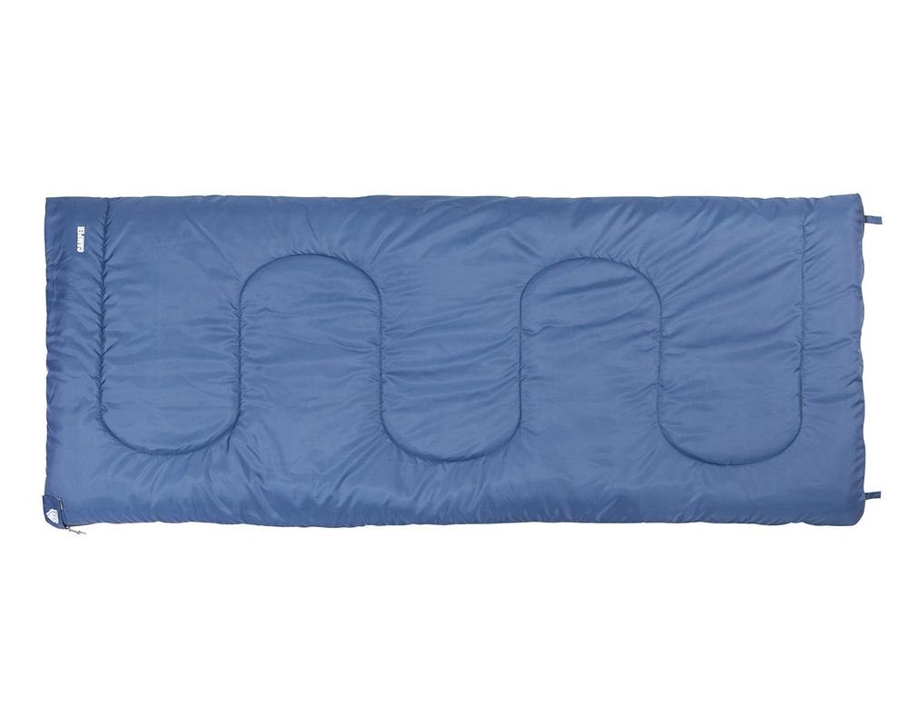 Классический спальный мешок-одеяло CAMPER синий