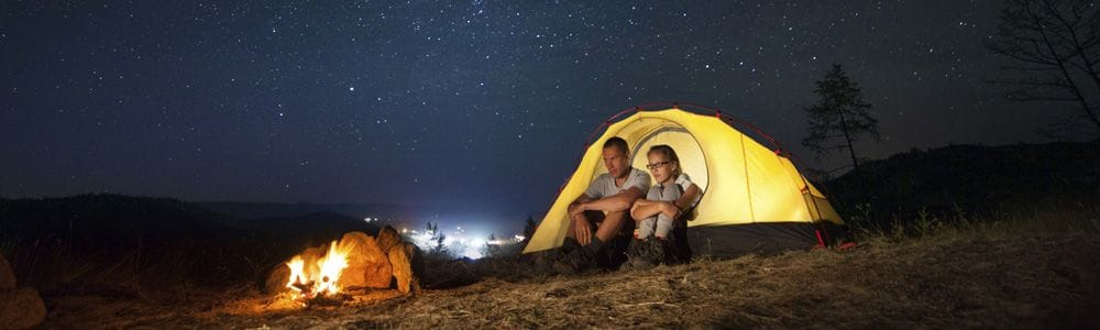 Как выбрать и подготовить место для палатки