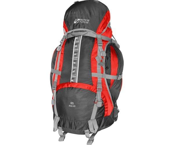 Альфа 65 V2 рюкзак туристический красный