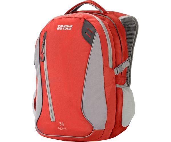 Агент 34 рюкзак городской красный