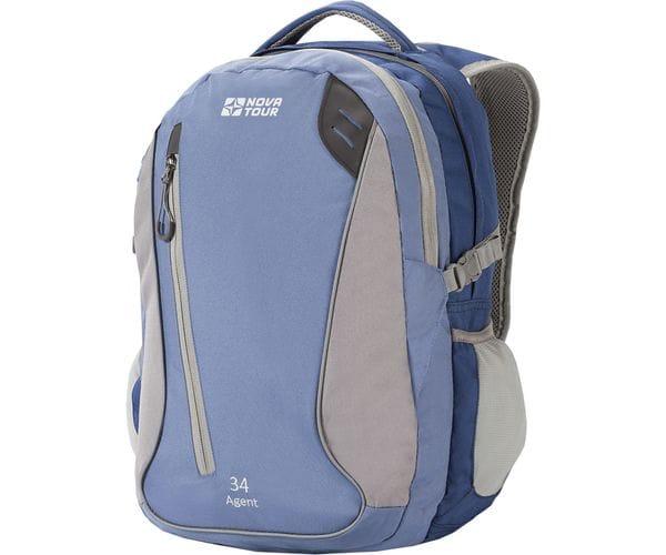 Агент 34 рюкзак городской голубой