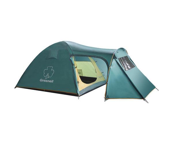 Палатка кемпинговая трехместная с тамбуром Каван 3