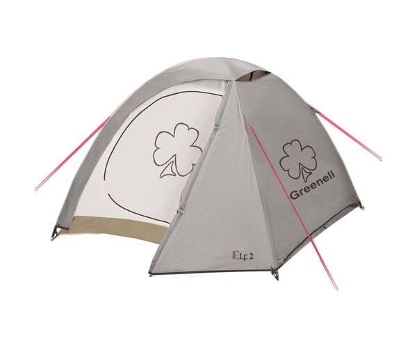 Палатка для путешествий Эльф 2 V3 Коричневая