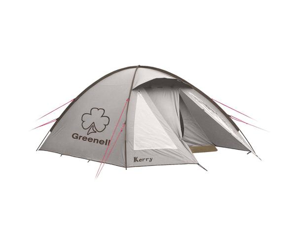 Палатка с наружным каркасом Керри 3 v3 Коричневая
