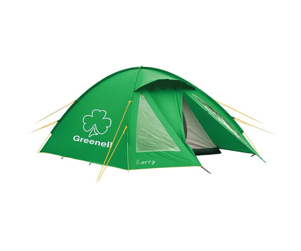 Палатка с наружным каркасом Керри 3 v3 Зеленая