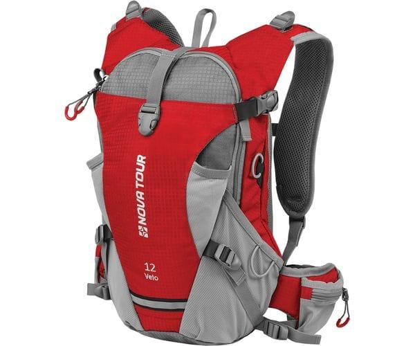 Вело 12 рюкзак спортивный красный