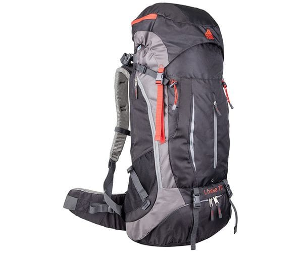 Многофункциональный туристический рюкзак Lhasa 70