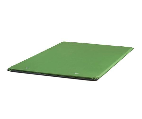 Большой самонадувающийся коврик Relax 50 Double зеленый